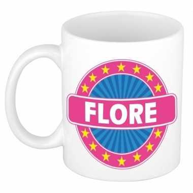 Kado mok voor flore