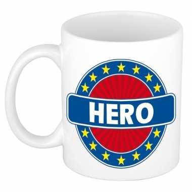 Kado mok voor hero