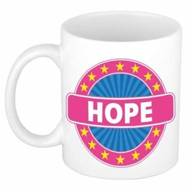 Kado mok voor hope