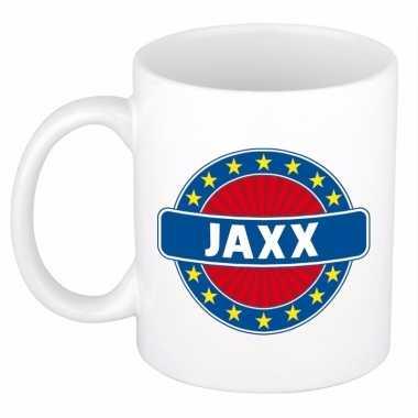 Kado mok voor jaxx