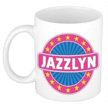 Kado mok voor jazzlyn