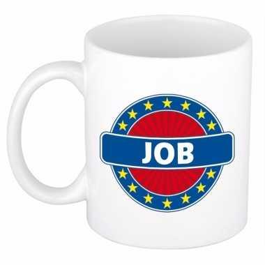 Kado mok voor job