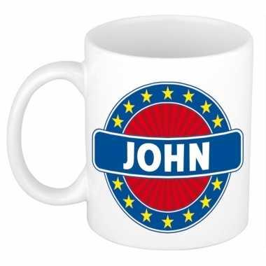 Kado mok voor john