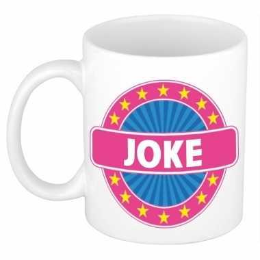 Kado mok voor joke