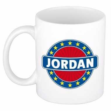 Kado mok voor jordan