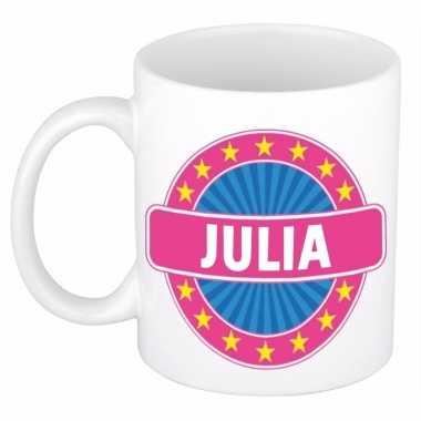 Kado mok voor julia