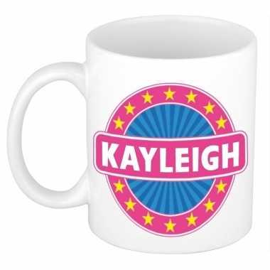 Kado mok voor kayleigh