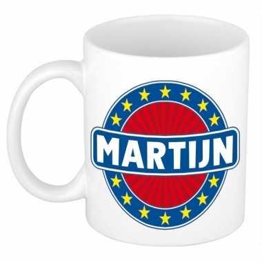 Kado mok voor martijn