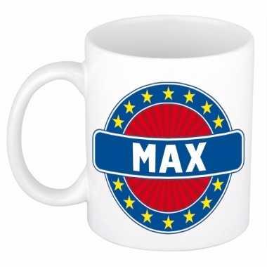 Kado mok voor max