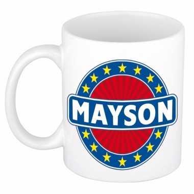 Kado mok voor mayson