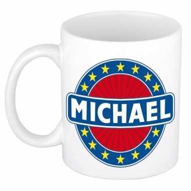 Kado mok voor michael