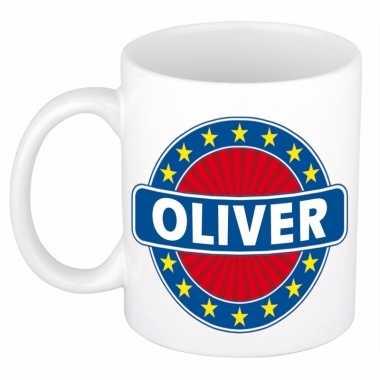 Kado mok voor oliver