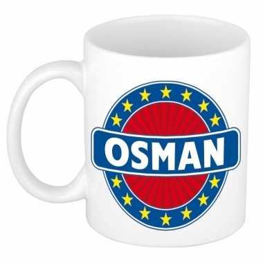 Kado mok voor osman