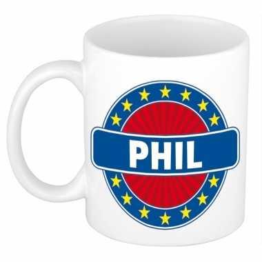Kado mok voor phil