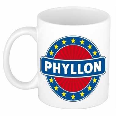 Kado mok voor phyllon