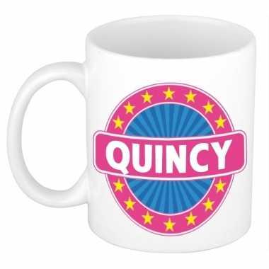 Kado mok voor quincy