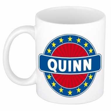 Kado mok voor quinn