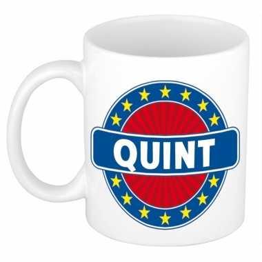 Kado mok voor quint