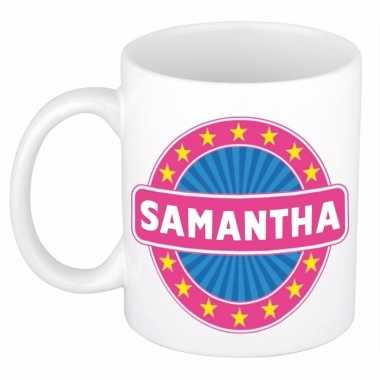 Kado mok voor samantha