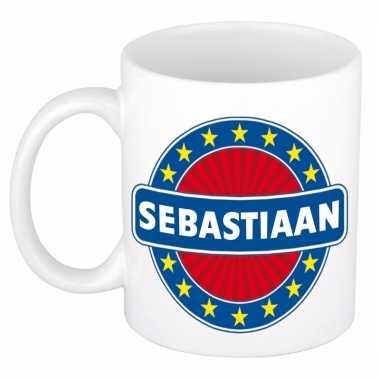 Kado mok voor sebastiaan