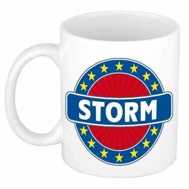Kado mok voor storm