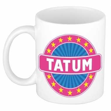 Kado mok voor tatum