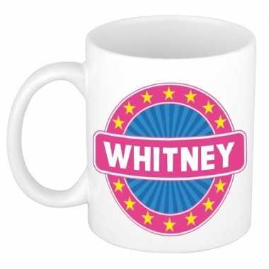 Kado mok voor whitney