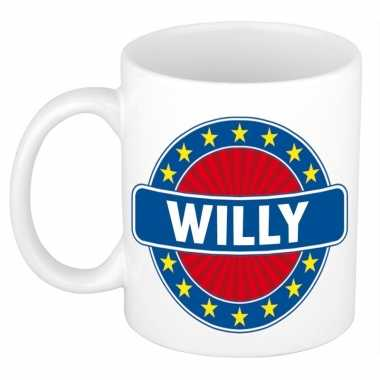 Kado mok voor willy