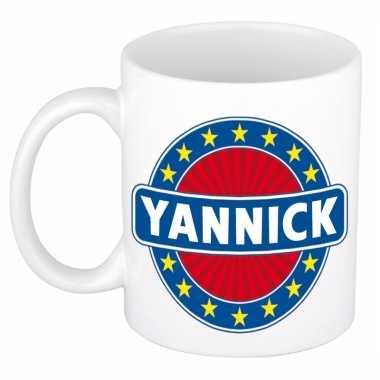 Kado mok voor yannick