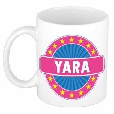 Kado mok voor yara