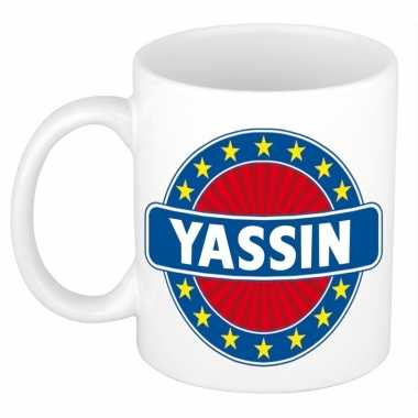 Kado mok voor yassin
