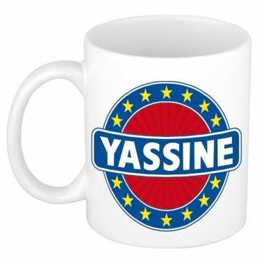 Kado mok voor yassine