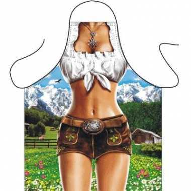 Kado schort trendy alpen vrouw