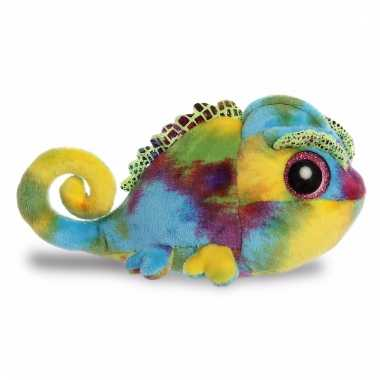 Kameleon knuffeltje 20 cm camee yoohoo and friends