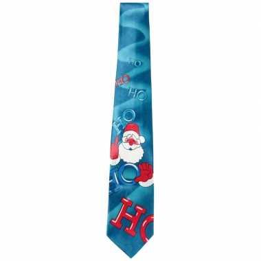 Kerst stropdas met muziek voor heren