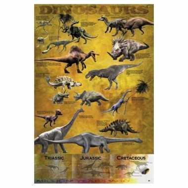 Kinderkamer decoratie poster dinosaurus