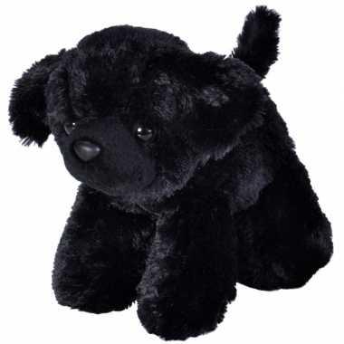 Labrador hond zwart 18 cm