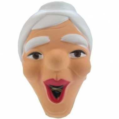 Lachende sarah masker