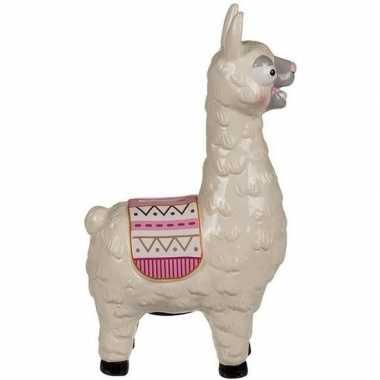 Lama / alpaca spaarpot 28 cm