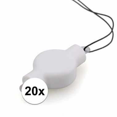 Lampionnen led verlichting 20x stuks