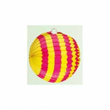 Lampions in 2 kleuren 24 cm