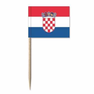 Landen 50x cocktailprikkers kroatie