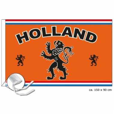 Landen supporter vlag holland