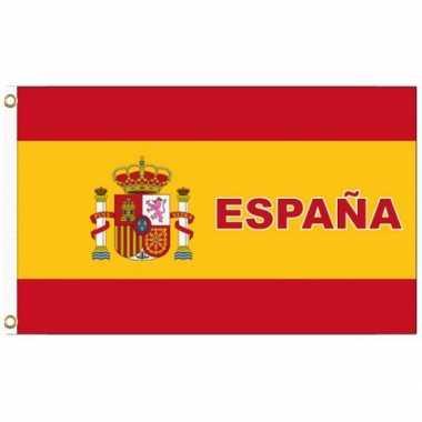 Landen supporter vlag spanje