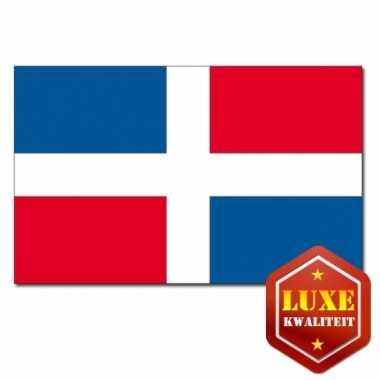 Landen vlag dominicaanse republiek