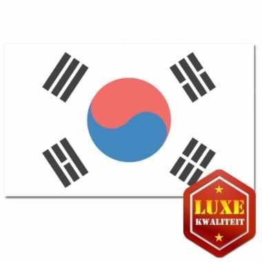 Landen vlag van zuid korea