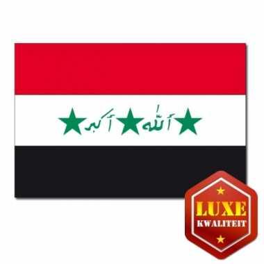 Landen vlaggen van irak