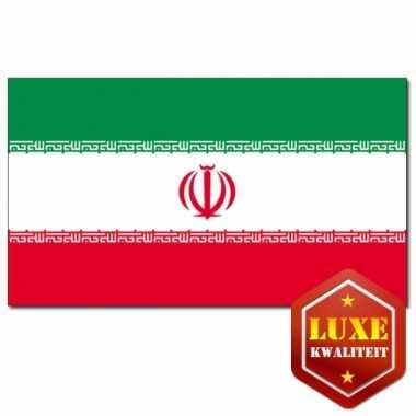 Landen vlaggen van iran