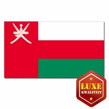Landen vlaggen van oman