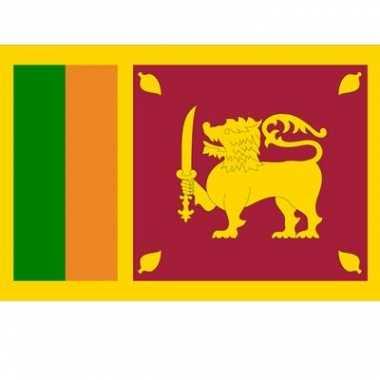Landen vlaggen van sri lanka